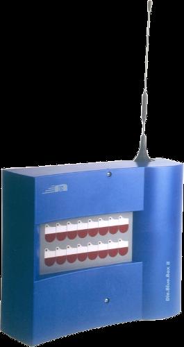 Blue Box alarmieren feuerwehr